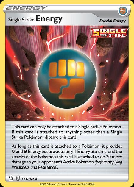 Single Strike Energy Battle Styles 141