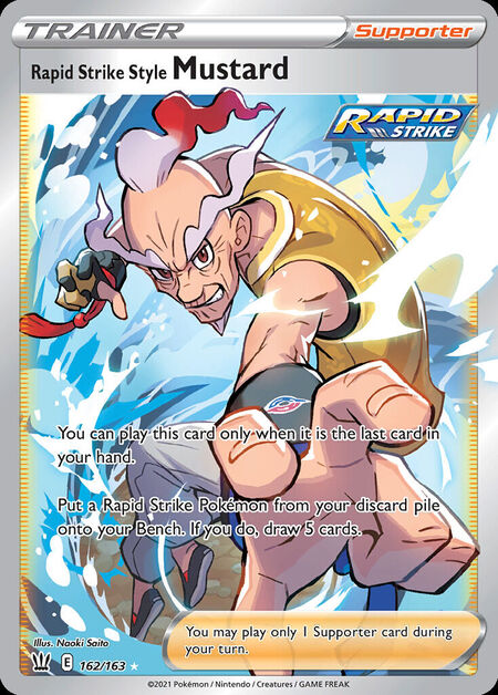 Rapid Strike Style Mustard Battle Styles 162