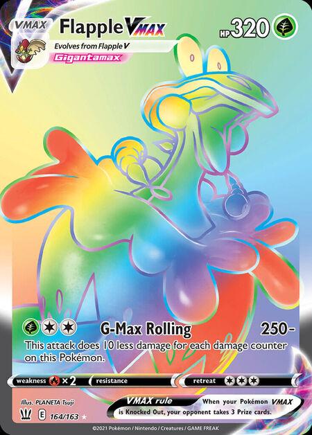 Flapple VMAX Battle Styles 164