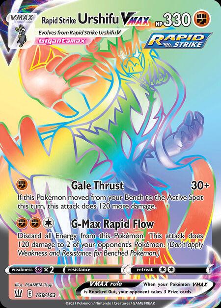 Rapid Strike Urshifu VMAX Battle Styles 169