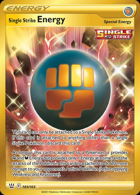 Single Strike Energy Battle Styles 183