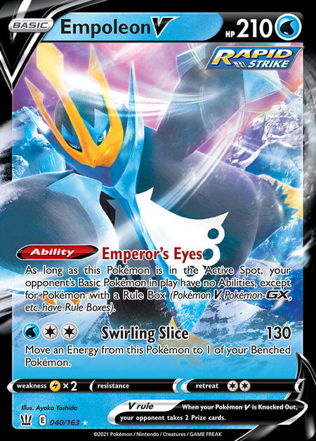 Empoleon V Battle Styles 40