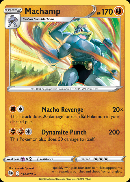 Machamp Champions Path 26