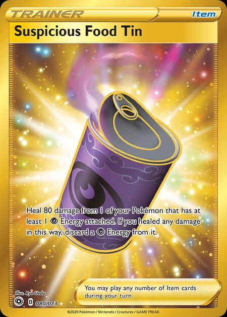 Strange Canned Food Champions Path 80