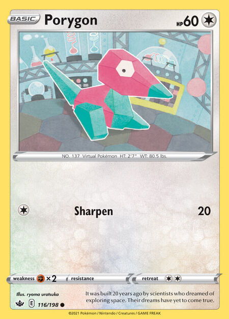Porygon Chilling Reign 116