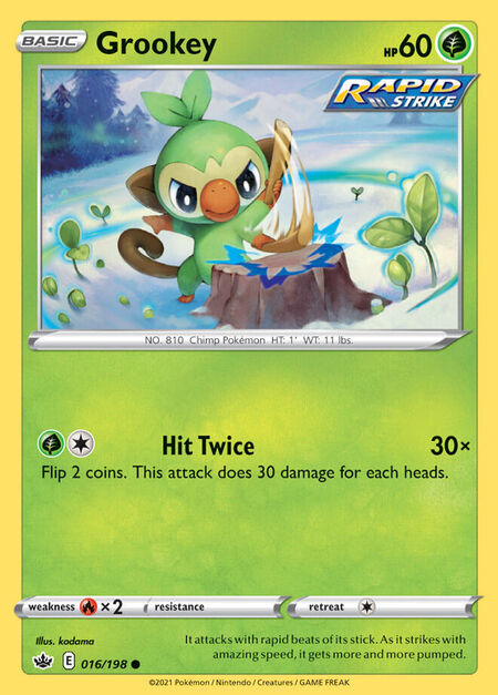 Grookey Chilling Reign 16
