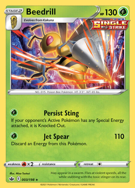 Beedrill Chilling Reign 3