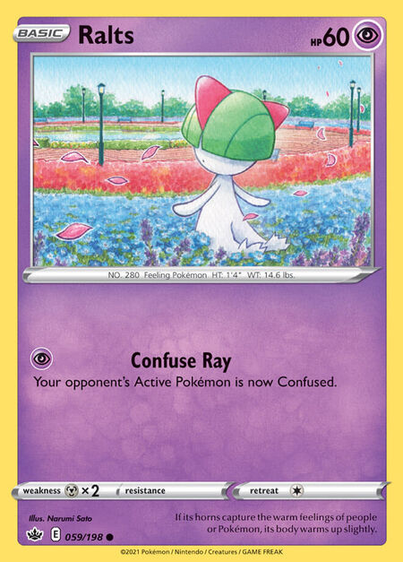 Ralts Chilling Reign 59