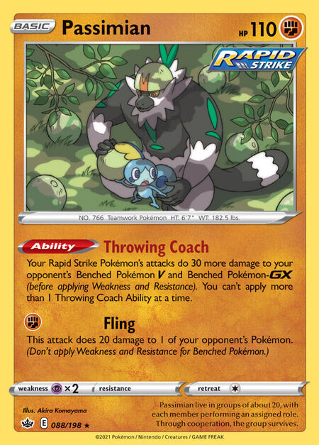 Passimian Chilling Reign 88