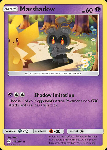 Marshadow Cosmic Eclipse 103
