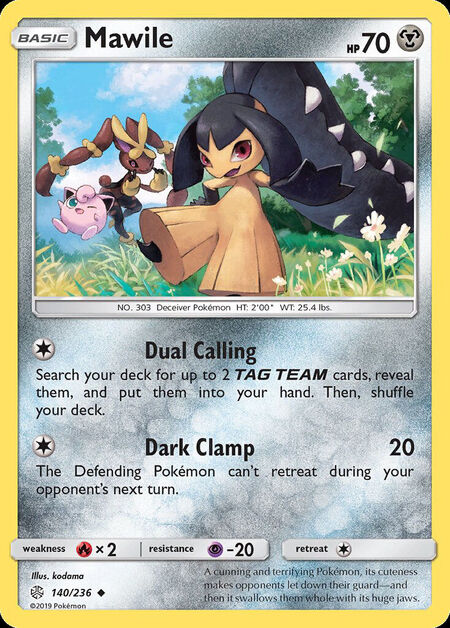 Mawile Cosmic Eclipse 140