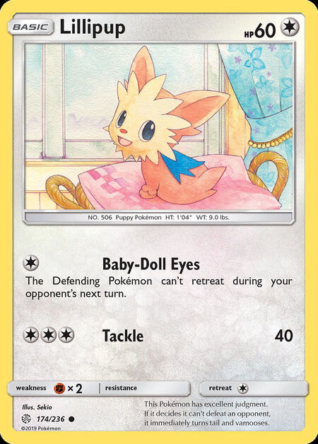 Lillipup Cosmic Eclipse 174