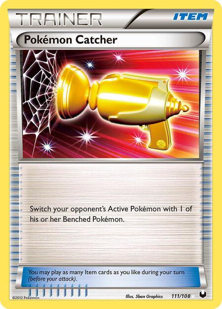 Pokémon Catcher Dark Explorers 111
