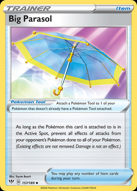 Big Parasol Darkness Ablaze 157