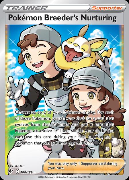 Pokémon Breeder's Nurturing Darkness Ablaze 188