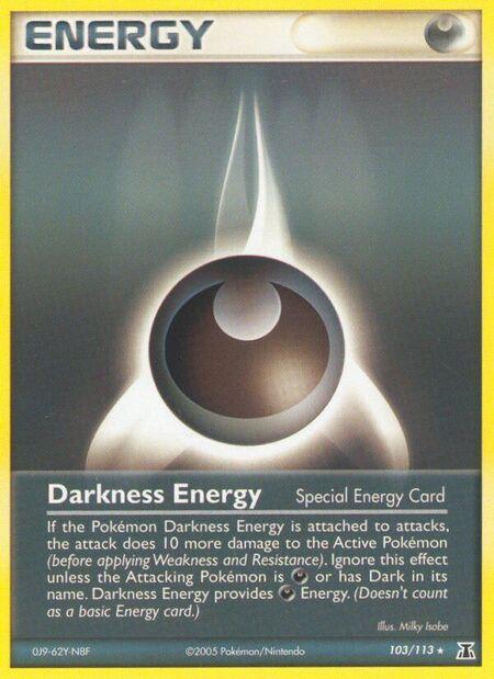 Darkness Energy Delta Species 103
