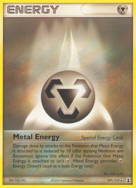 Metal Energy Delta Species 107