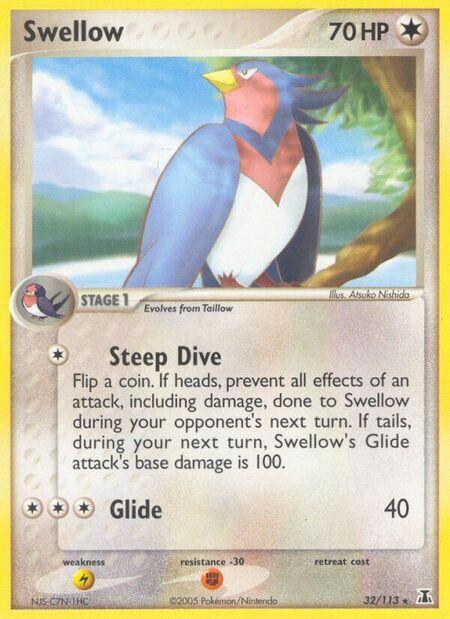 Swellow Delta Species 32