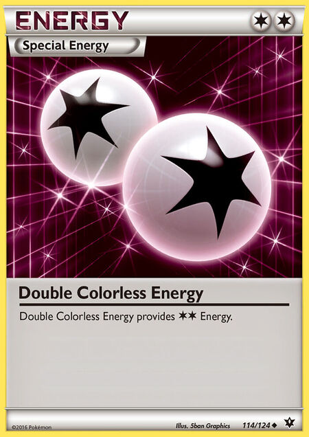 Double Colorless Energy Fates Collide 114
