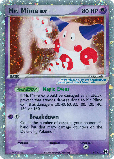 Mr. Mime ex FireRed & LeafGreen 111