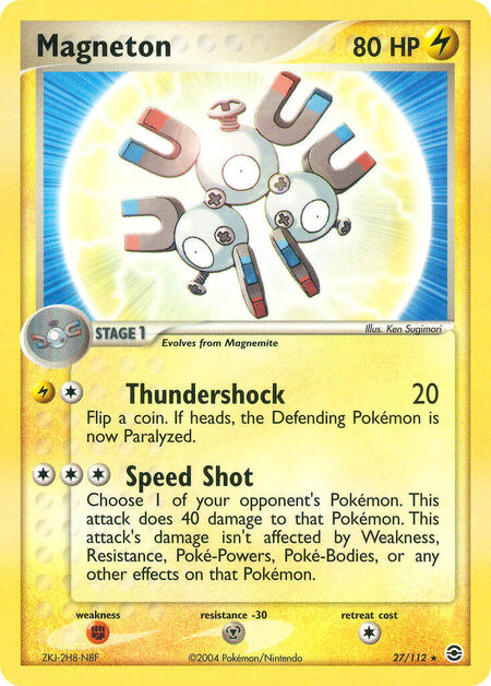 Magneton FireRed & LeafGreen 27