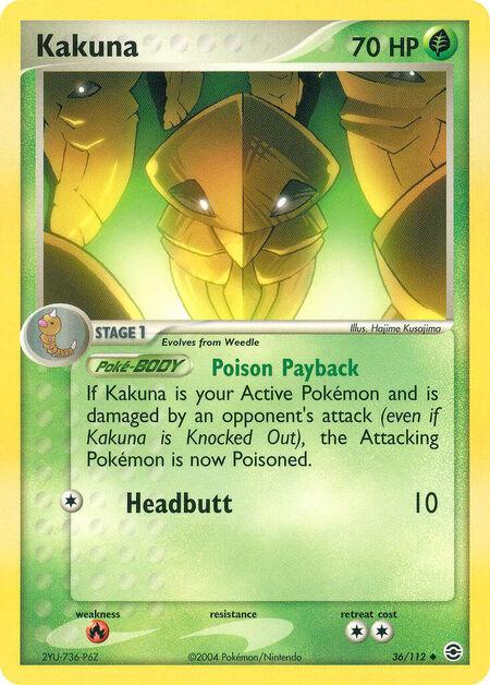 Kakuna FireRed & LeafGreen 36