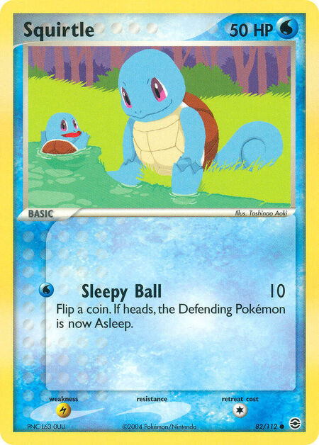 Squirtle FireRed & LeafGreen 82