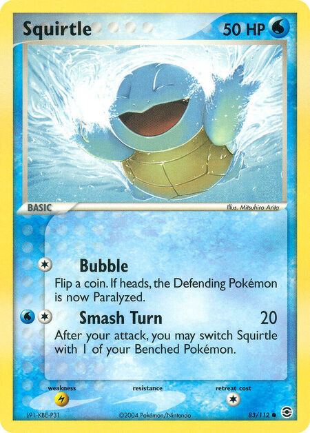 Squirtle FireRed & LeafGreen 83