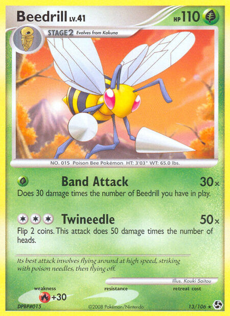 Beedrill Great Encounters 13