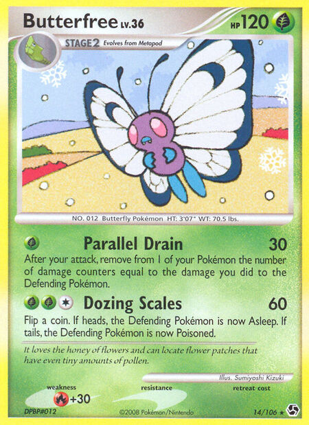 Butterfree Great Encounters 14