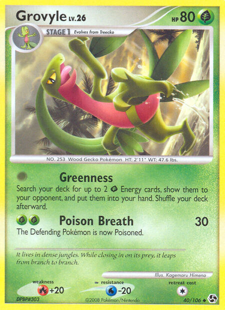 Grovyle Great Encounters 40