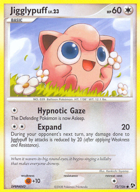 Jigglypuff Great Encounters 72