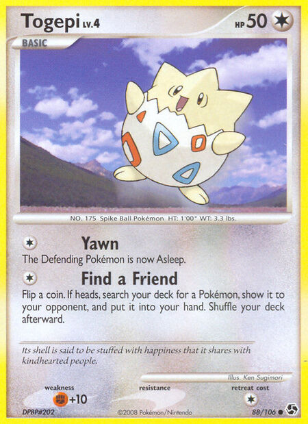 Togepi Great Encounters 88