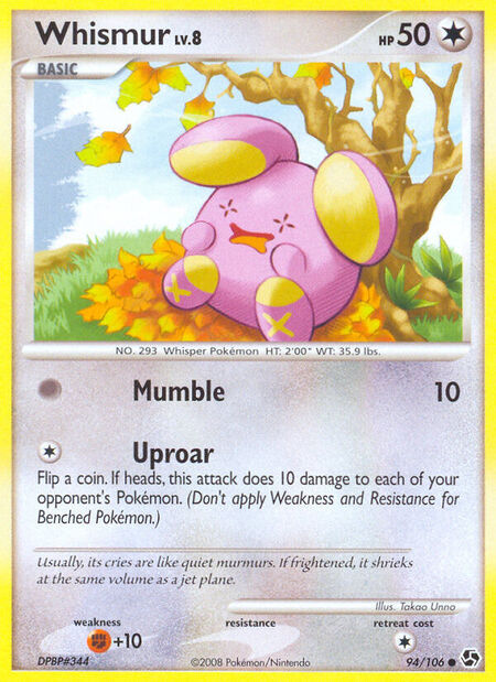 Whismur Great Encounters 94