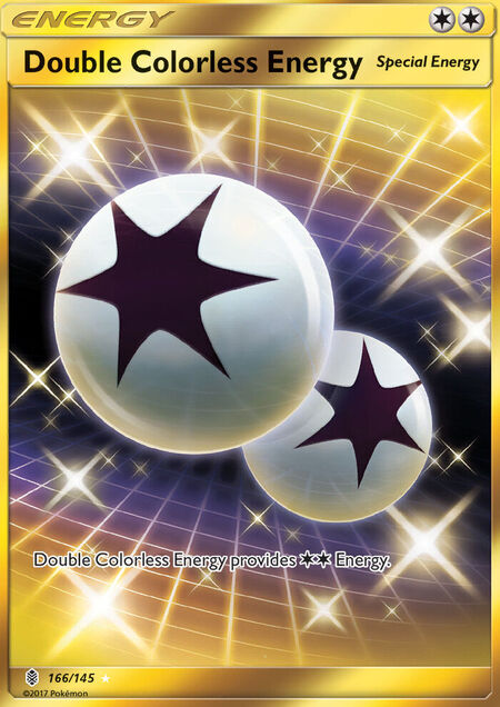 Double Colorless Energy Guardians Rising 166