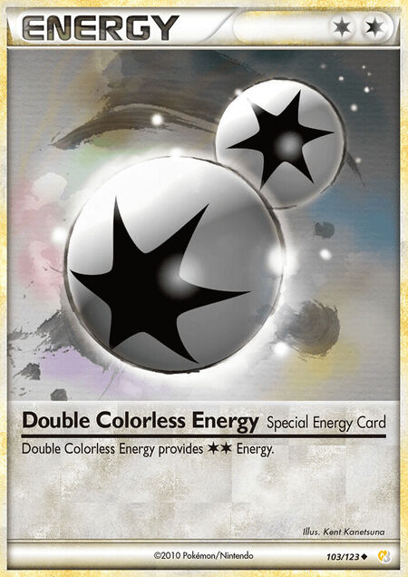 Double Colorless Energy HeartGold & SoulSilver 103