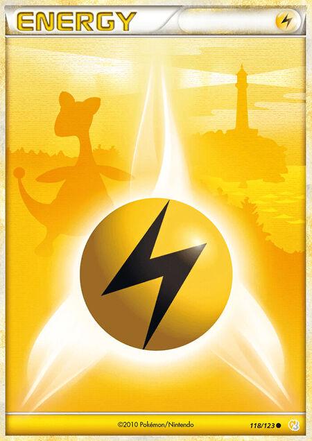 Lightning Energy HeartGold & SoulSilver 118