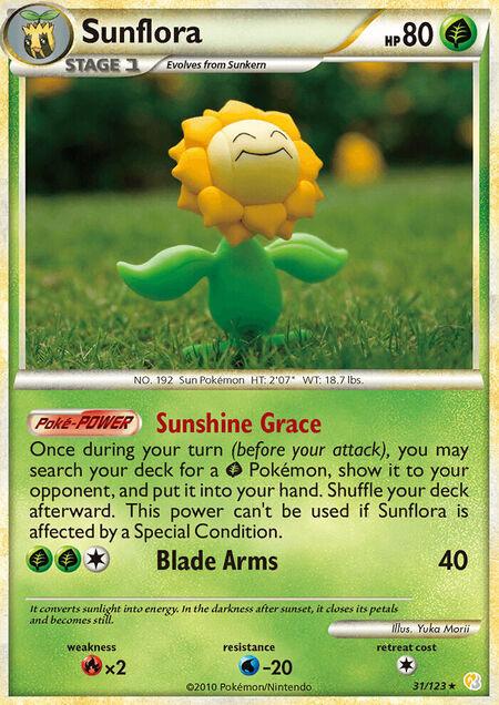 Sunflora HeartGold & SoulSilver 31
