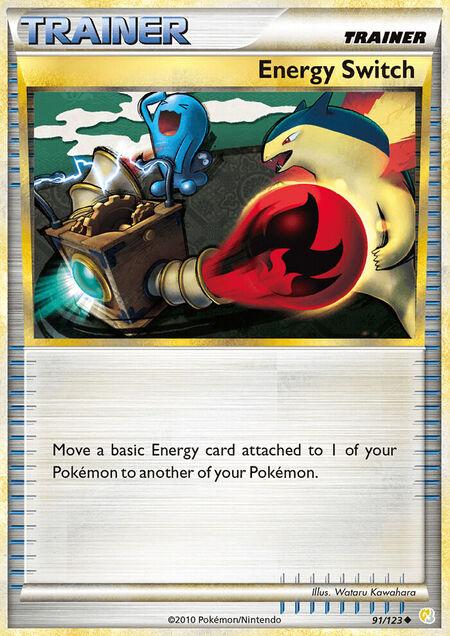 Energy Switch HeartGold & SoulSilver 91