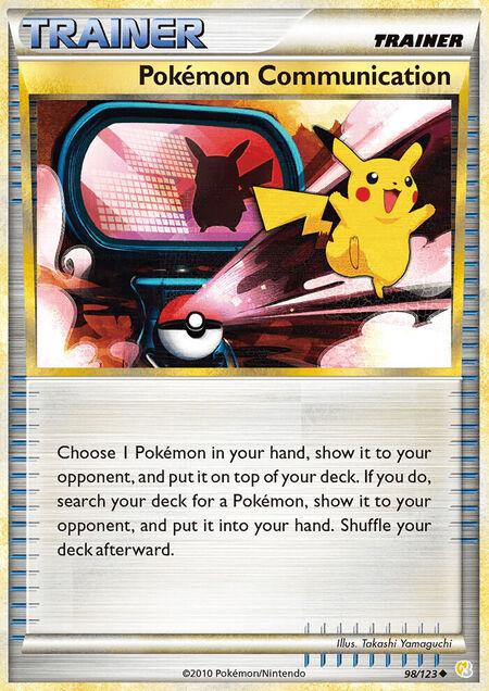 Pokémon Communication HeartGold & SoulSilver 98