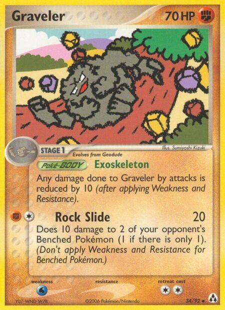 Graveler Legend Maker 34