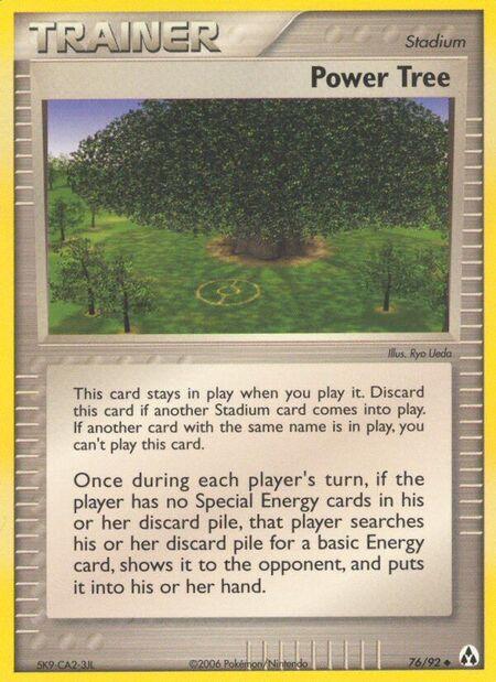Power Tree Legend Maker 76