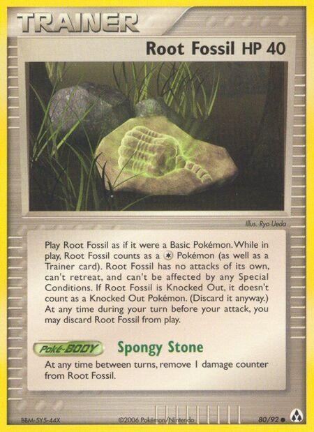 Root Fossil Legend Maker 80