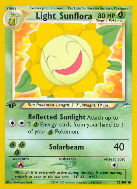 Light Sunflora Neo Destiny 72