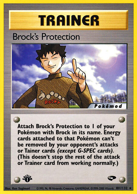 Brock's Protection Pokémod Gym Challenge 101