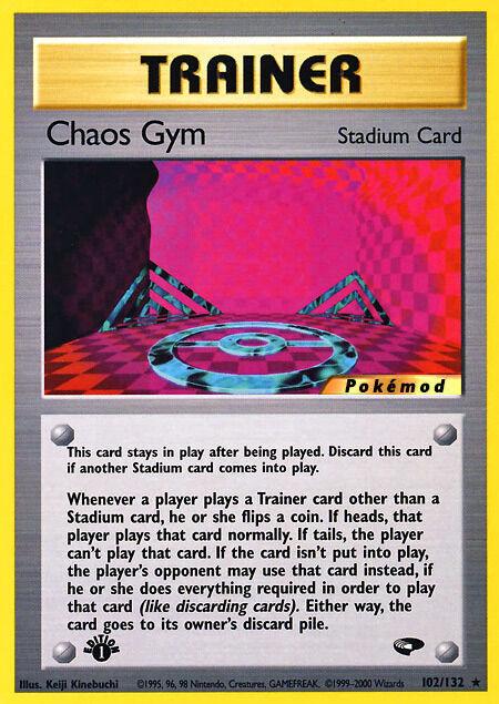 Chaos Gym Pokémod Gym Challenge 102