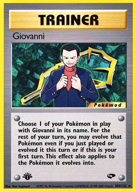 Giovanni Pokémod Gym Challenge 104