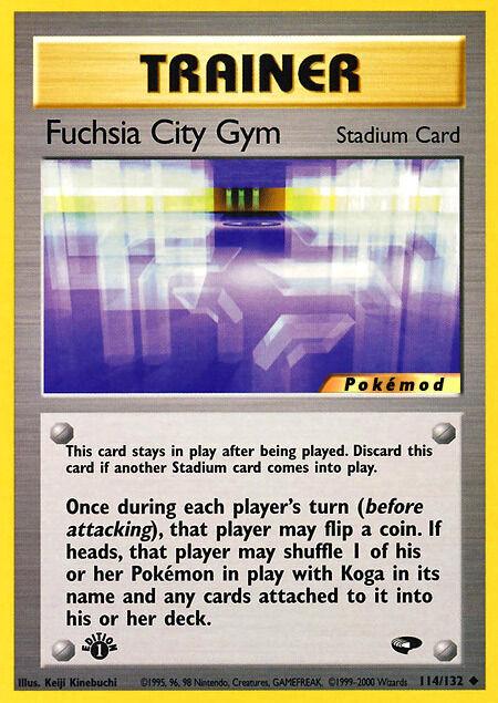 Fuchsia City Gym Pokémod Gym Challenge 114