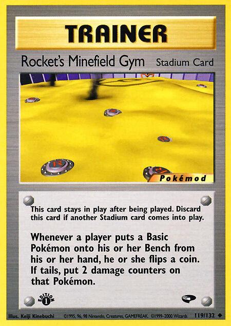 Rocket's Minefield Gym Pokémod Gym Challenge 119