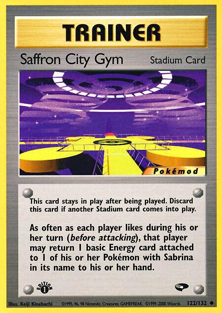 Saffron City Gym Pokémod Gym Challenge 122